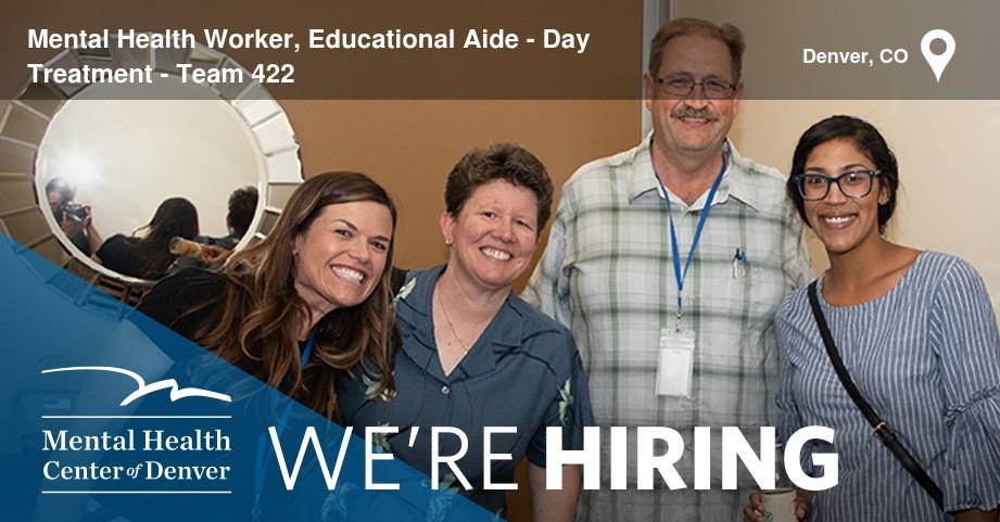 Mental Health Center of Denver Job - 34433381 | CareerArc