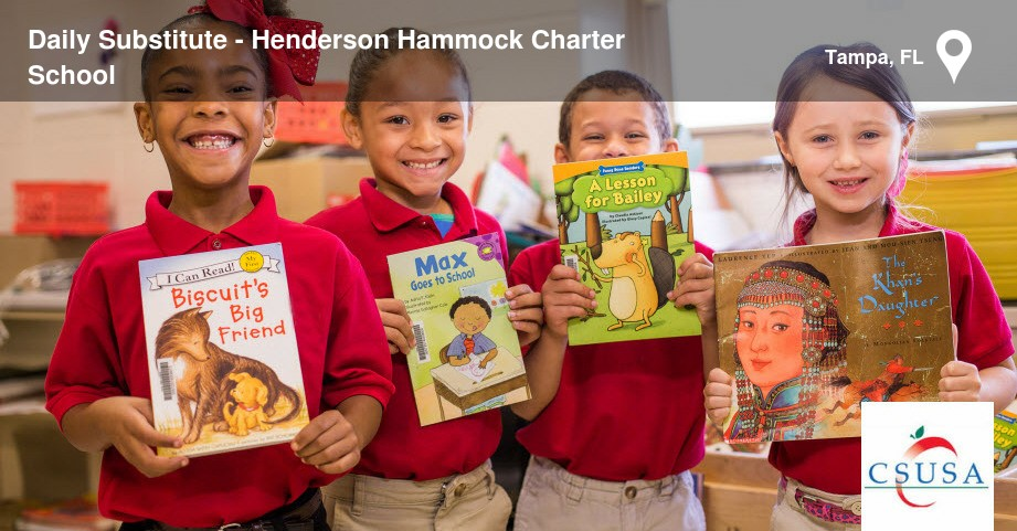 Superb Job   Daily Substitute   Henderson Hammock Charter School   26789328 |  CareerArc