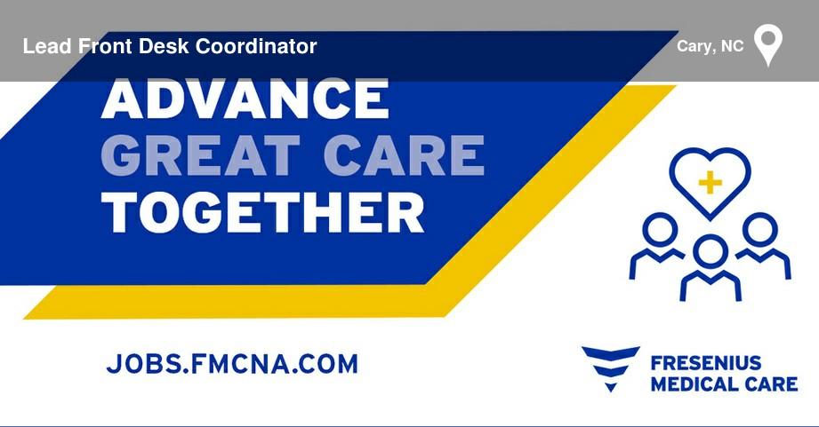 Fresenius Medical Care Job - 40020835   CareerArc
