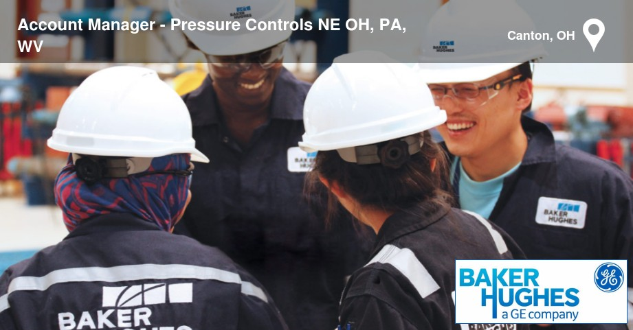 Job - Account Manager - Pressure Controls NE OH, PA, WV